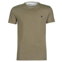 material Men short-sleeved t-shirts Timberland SS DUNSTAN RIVER CREW TEE Kaki