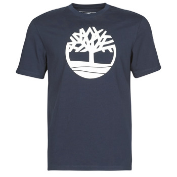 material Men short-sleeved t-shirts Timberland SS KENNEBEC RIVER BRAND TREE TEE Marine