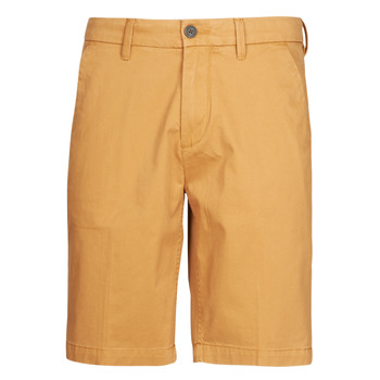 material Men Shorts / Bermudas Timberland SQUAM LAKE STRETCH TWILL STRAIGHT CHINO SHORT Beige