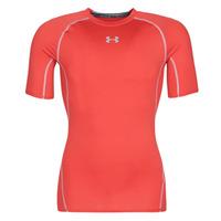 material Men short-sleeved t-shirts Under Armour UA HEATGEAR ARMOUR Red