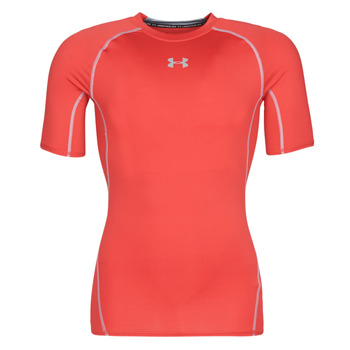 material Men short-sleeved t-shirts Under Armour UA HEATGEAR ARMOUR Red