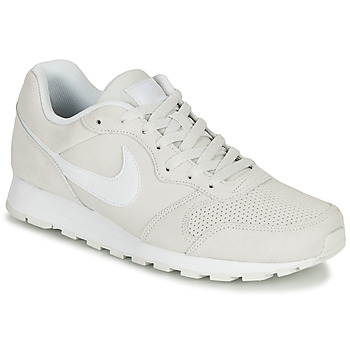 Shoes Men Low top trainers Nike MD RUNNER 2 SUEDE Grey / White