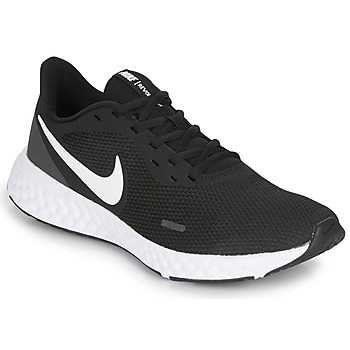 Shoes Men Running shoes Nike REVOLUTION 5 Black / White