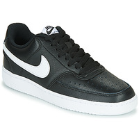 Shoes Women Low top trainers Nike COURT VISION LOW Black / White