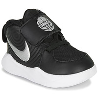 Shoes Children Multisport shoes Nike TEAM HUSTLE D 9 TD Black / Silver