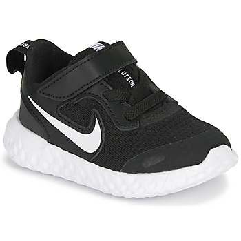 Shoes Children Low top trainers Nike REVOLUTION 5 TD Black / White