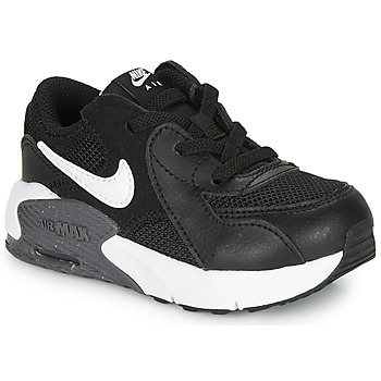 Shoes Children Low top trainers Nike AIR MAX EXCEE TD Black / White