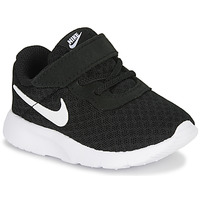 Shoes Children Low top trainers Nike TANJUN TD Black / White