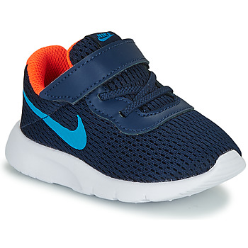 Shoes Boy Low top trainers Nike TANJUN TD Blue