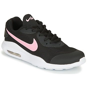 Shoes Girl Low top trainers Nike AIR MAX OKETO GS Black / Pink