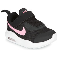 Shoes Girl Low top trainers Nike AIR MAX OKETO TD Black / Pink