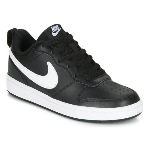 Nike COURT BOROUGH LOW 2 GS Black