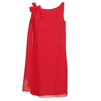 material Women Short Dresses Naf Naf LAURIE NOEUD Red