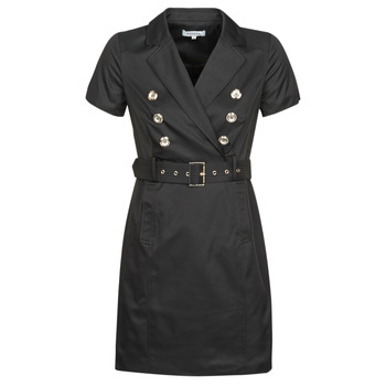 material Women Short Dresses Morgan RIVIA Black