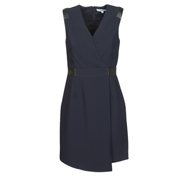 material Women Short Dresses Morgan RNEW Marine