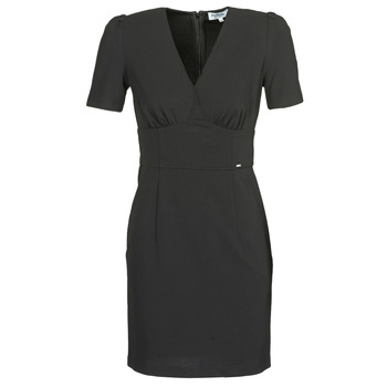 material Women Short Dresses Morgan RORIS Black