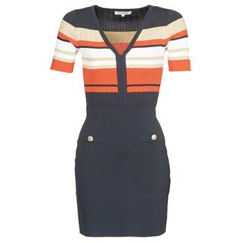 material Women Short Dresses Morgan RMDORA Marine