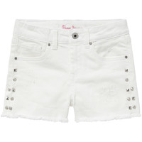material Girl Shorts / Bermudas Pepe jeans ELSY White