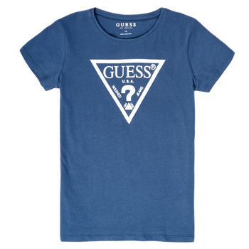material Girl short-sleeved t-shirts Guess GIULIO Blue