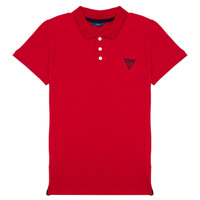 material Boy short-sleeved polo shirts Guess HARRY Red