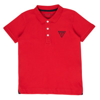 material Boy short-sleeved polo shirts Guess HOANG Red