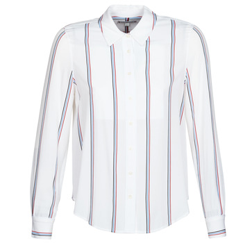 material Women Shirts Tommy Hilfiger DANEE BLOUSE LS White