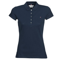 material Women short-sleeved polo shirts Tommy Hilfiger HERITAGE SS SLIM POLO Marine
