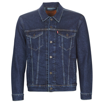 material Men Denim jackets Levi's THE TRUCKER JACKET Moon / Lit