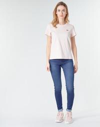 material Women Skinny jeans Levi's 720 HIRISE SUPER SKINNY Echo / Storm