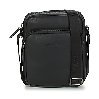 Bags Men Pouches / Clutches LANCASTER SOFT VINTAGE HOMME 10 Black