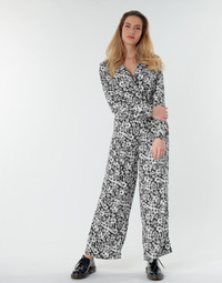 material Women Jumpsuits / Dungarees Only ONLOPHELIA Black / White