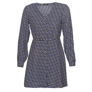 material Women Short Dresses Only ONLDARLING Blue