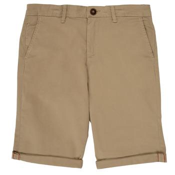 material Boy Shorts / Bermudas Jack & Jones JJIBOWIE Beige