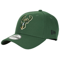 Accessorie Caps New-Era NBA THE LEAGUE MILWAUKEE BUCKS Green