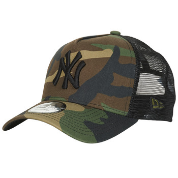 Accessorie Caps New-Era CLEAN TRUCKER NEW YORK YANKEES Camouflage / Kaki