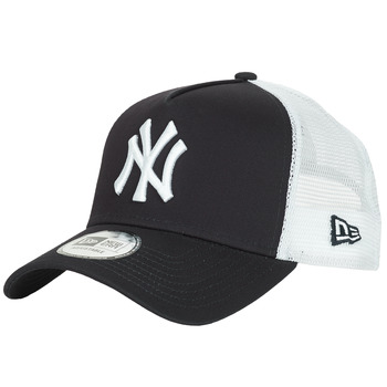 Accessorie Caps New-Era CLEAN TRUCKER NEW YORK YANKEES Marine / White