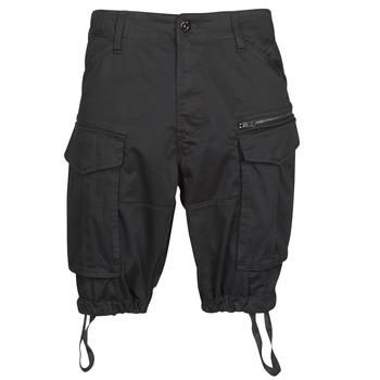 material Men Shorts / Bermudas G-Star Raw ROVIC ZIP RELAXED 12 Black