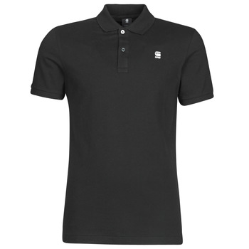 material Men short-sleeved polo shirts G-Star Raw Dunda slim polo ss Dk /  black