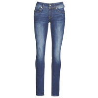 material Women straight jeans G-Star Raw MIDGE MID STRAIGHT WMN Kaki