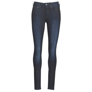 material Women Skinny jeans G-Star Raw 3301 HIGH SKINNY WMN Dk / Aged