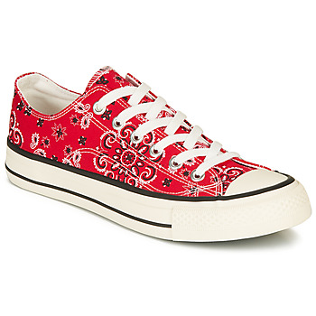 Shoes Men Low top trainers André VOILURE Red