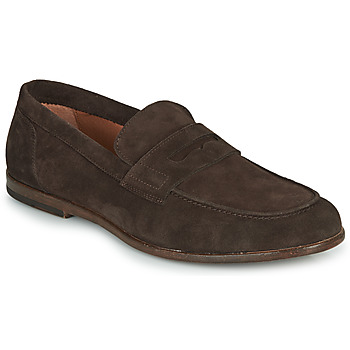 Shoes Men Loafers André HARLAND Brown