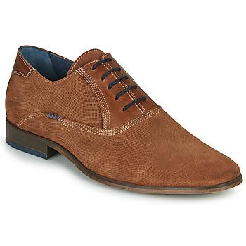 Shoes Men Brogue shoes André WALACE Cognac