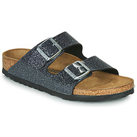 Shoes Women Mules Birkenstock ARIZONA Grey / Dark