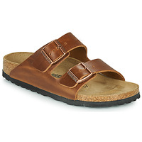 Shoes Mules Birkenstock ARIZONA LEATHER Brown