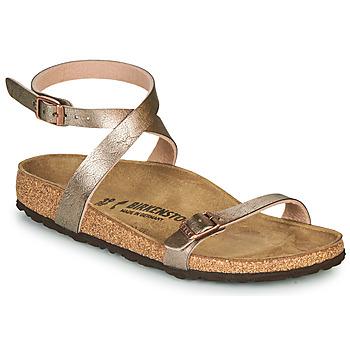 Shoes Women Sandals Birkenstock DALOA Bronze
