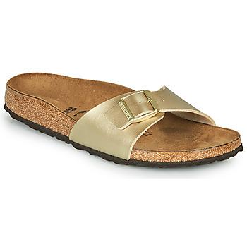 Shoes Women Mules Birkenstock MADRID Gold