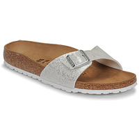 Shoes Women Mules Birkenstock MADRID Cosmic / Sparkle / White