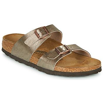 Shoes Women Mules Birkenstock SYDNEY Bronze