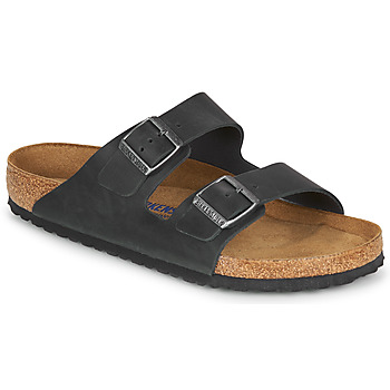 Shoes Men Mules Birkenstock ARIZONA SFB Black